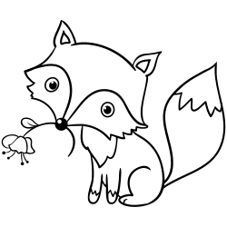 Cute Baby Animal Coloring Pages Kids Drawing Hub