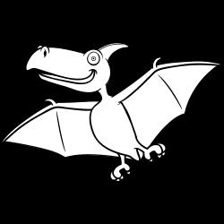 Flying dinosaur