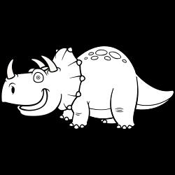 Rhino dinosaur