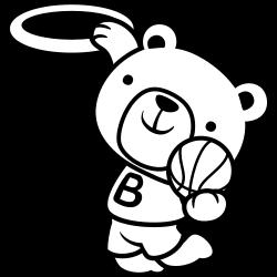 Basketball player bear