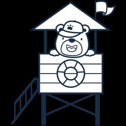 Bear the coast guard