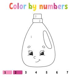 Detergant coloring page