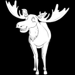 Realistic deer coloring