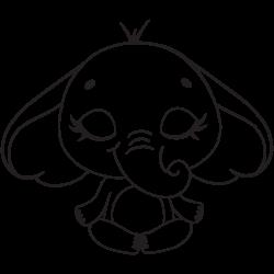Yoga time for elephant