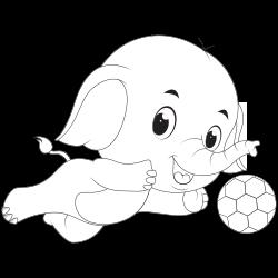 Goalkeeper elephant
