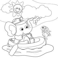 Sailor elephant