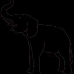 Screaming elephant