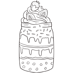 Kawaii ice cream coloring pages