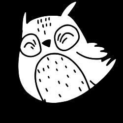 Flying little owl