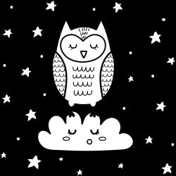Kawaii type of owl