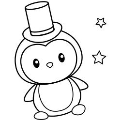 Magician penguin