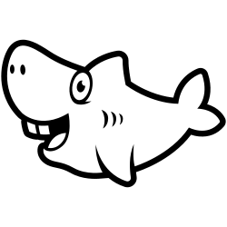 Baby shark coloring pages pdf