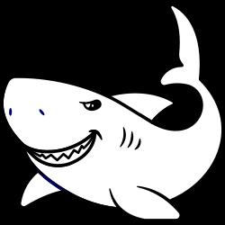 Wild looking shark