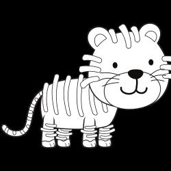 Funny looking tiger