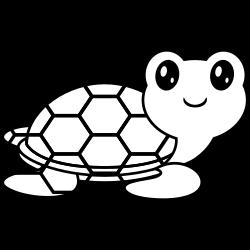 Weird looking turtle