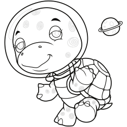 Turtle shell coloring pages