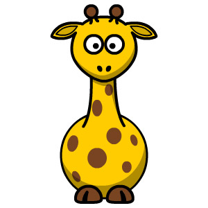 online giraffe coloring