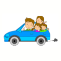 Car Trip Coloring Page
