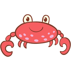 How to draw a crab